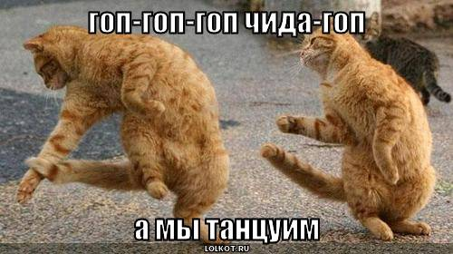 А мы танцуим