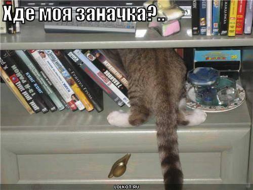 Хде моя заначка?..
