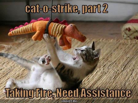 taking fire!