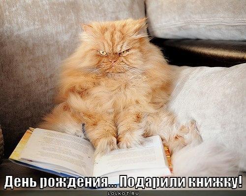 подарили книжку