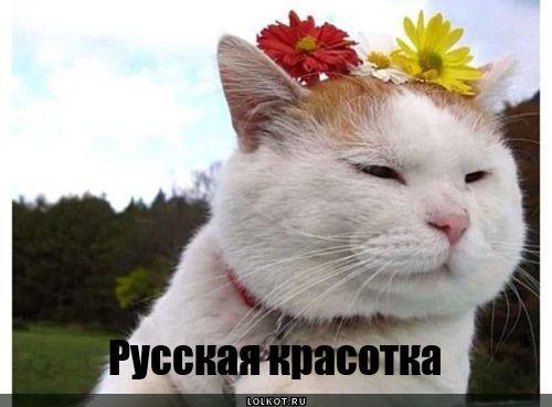русская красотка