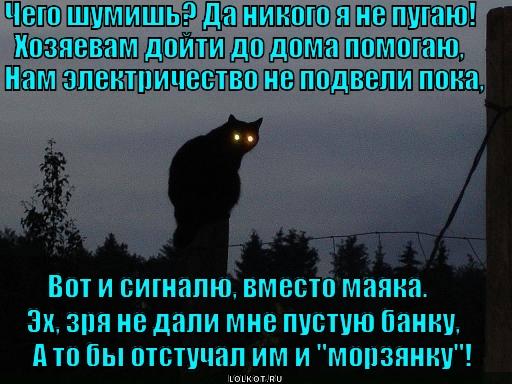 Маяк в ночи