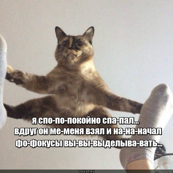 Фо-фо-фокусы